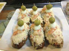 ensaladilla de marisco con langostino