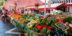 Neben dem wunderschönen Marché aux Fleurs gibt es zahlreiche Essensmärkte in Nizza © Susanne Zöhrer