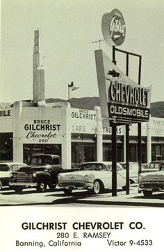 Gilchrist Chevrolet Co. Retro Cars, Vintage Cars, Antique Cars, Vintage Signs, Chevy Dealerships, Chevrolet Malibu, Chevrolet Usa, Bicycles, Cars