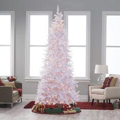 Winter Park Slim Pre-lit Christmas Tree - Christmas Trees at Hayneedle