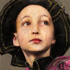 Of the serie The Black Tulip: Matthias Povel by Lita Cabellut