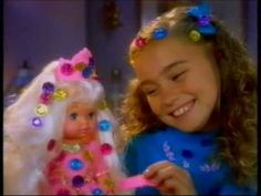 """Commercial from 1992 for the """"Lil' Miss Magic Jewels"""" doll from Mattel. 90s Childhood, Childhood Memories, Vintage Stuff, Retro Vintage, Best Christmas Presents, 90s Toys, Cool Toys, Unicorns, Old School"""