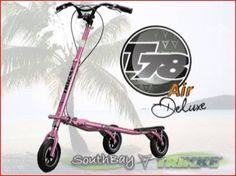 Pink Trikke T78Air Deluxe | SouthBayTrikke.com (855) 4TRIKKE  http://southbaytrikke.com