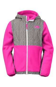 a6bd742c196f The North Face  Denali  Water Resistant Recycled Fleece Hoodie (Big Girls)  available