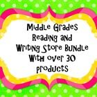 This product contains items from my store that focus on Reading Strategy and Writing Skills. Save $30 when you purchase my store! Items included ar...