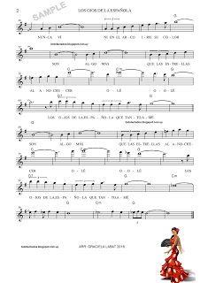 Los Ojos De La Española Bert Kaempfert Hojas De Música Partituras Letras Y Acordes