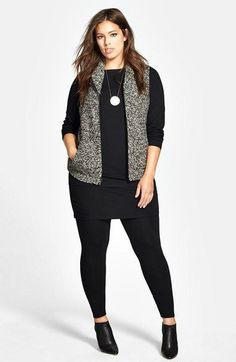How to wear plus size outfits casual curvy fashion 55 Ideas for 2019 Plus Size Legging Outfits, Plus Size Fall Outfit, Plus Size Leggings, Plus Size Outfits, Leggings Sale, Plus Size Travel Clothes, Travel Clothes Women, Clothes For Women, Travel Clothing
