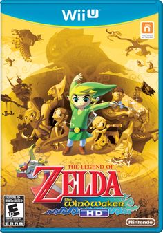 NA The Legend of Zelda: The Wind Waker HD box art - Release this October - #WiiU @Nintendo