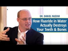 """Fluoride in Water Actually Destroys Teeth & Bones. Wait a minute. Isn't Fluoride good for you? Listen to our good friend, featured in """"The Truth About Cancer: A Global Quest"""", Doc Nuzum, explain the answer in just under 3 minutes here:  9 days....  &utm_content=bufferfeb77&utm_medium=social&utm_source=pinterest.com&utm_campa…"""