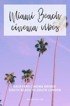 Miami Beach cinema vibes