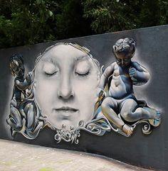 Foto: • ARTIST . PICHI & AVO • ◦ Untitled ◦ location: Valencia, Spain #streetart