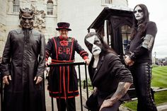We took Abbath for a day trip round London - TeamRock