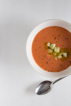 Cupboard Challenge: Fresh Tomato Gazpacho