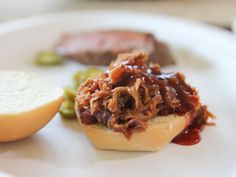 Get Spicy Pulled Pork Sliders Recipe from Food Network