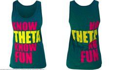 Know Theta, Know Fun; No Theta, No Fun