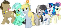 My Little Pony Friendship Is Magic Background | My Little Pony: Friendship is Magic - The Background Mane 6 Elements ...