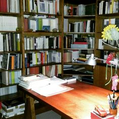 Il luogo dei pensieri. Biblioteca personale.