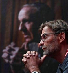 Bradley Ormesher had the idea of photographing Jurgen Klopp in the same pose as his father had photographed Bill Shankly for the cover of the manager's book A Legend In His Own Time, published in 1975 Liverpool Fc Website, Ynwa Liverpool, Liverpool Town, Salah Liverpool, Liverpool Football Club, Liverpool Legends, Liverpool History, Liverpool You'll Never Walk Alone