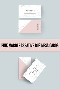 Get this beautiful pink marble creative business cards today. Get this beautiful business card template. Etsy Business Cards, Real Estate Business Cards, Unique Business Cards, Business Card Design, Creative Business, Photography Business Cards, Cards Diy, Pink Marble, Planner Template