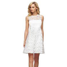 Calvin Klein Lace Shift Dress