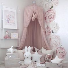 Dreamy Canopy - Champagne - Tutu Irresistible Boutique Baby Bedroom, Nursery Room, Girl Nursery, Girls Bedroom, Bedroom Corner, Baby Girl Bedroom Ideas, Nursery Reading, Girls Canopy, Bedroom Fun