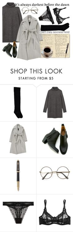 """dark side"" by barbtolo ❤ liked on Polyvore featuring Moleskine, Jason Wu, Gargyle, Parker, ZeroUV, ELSE and Mimi Holliday by Damaris"