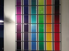 The Color Spectrum Series by Olafur Eliasson.