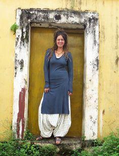 Gaia Conceptions - Salwar Hampi Below Knee Dress, $150.00 (http://www.gaiaconceptions.com/salwar-hampi-below-knee-dress/)