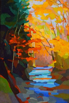 Autumn Stream by Brian Kiernan