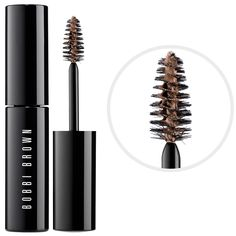 What it is:A cream-gel formula defines and fills in brows. What it does:Instantly makes brows appear groomed and well-defined with this brown shaper and hair touch up formula. Simply comb through brows and shape them as desired.