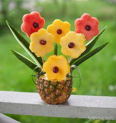 Načerpajte inšpiráciu na originálny darček. Tieto kytice nielen dobre vyzerajú, ale sú aj veľmi chutné a zdravé.