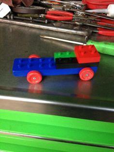 LEGO Pinewood Derby Car   Brittain's Lego pinewood derby car. #cubcontest