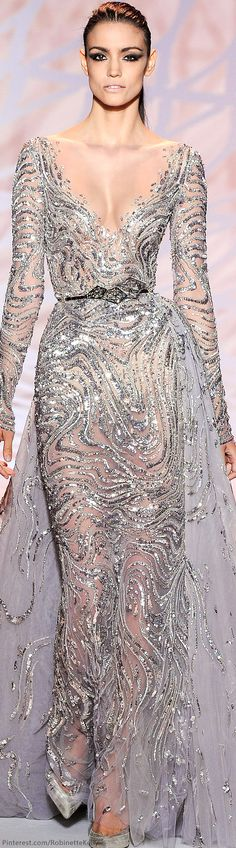 Zuhair Murad Haute Couture | F/W 2015  #zuhairmurad#fashion #glamour#hautecouture #dress