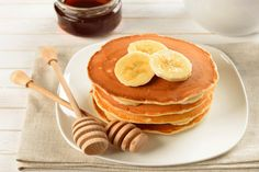 Banana, Cinnamon, and Honey Buckwheat Pancakes: These pancakes are heart-warming in more than one way.