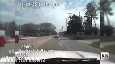 Wisconsin High Speed Police Pursuit Armed Bank Robber In Chrysler 300 Over 110+ MPH (Dashcam)