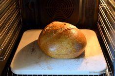 Paine de casa reteta simpla pas cu pas care nu da gres | Savori Urbane Just Bake, Home Food, Food Cakes, Cake Recipes, Food And Drink, Pizza, Cookies, Baking, Breads