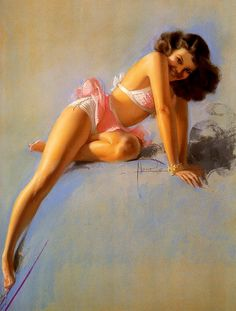 Pin-up Art by Rolf Armstrong
