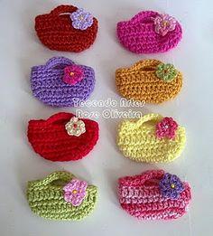 crochet handbags for dolls