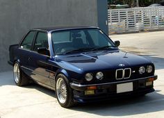 BMW E30 Coupe 1987 FINALLY. One in Dark Blue. Monaco Blue Metallic is my color of choice, gotta match my dads