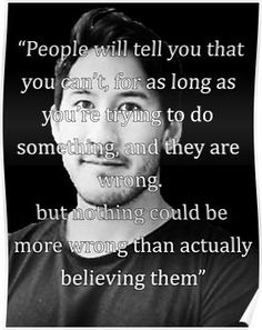 Markiplier Quote 1 Poster