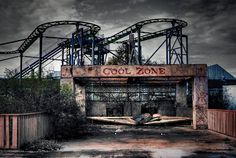 Urban Decay photography of Abandoned Amusement Park