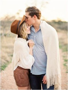 A kiss on the forehead | Natural couple shoot | a complete life | Photo: Kristen Kilpatrick