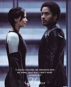 Cinna!!! !:''''(  I held out hope to the very last page of Mockingjay that he might still be alive.