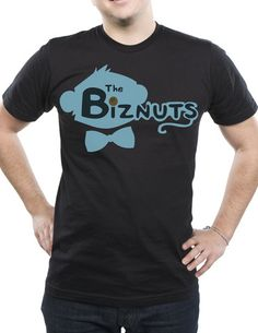 Monkey Biznuts - The Biznuts Logo T-shirt