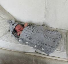 Ravelry: susie-f's Baby sleep sack - free pattern More