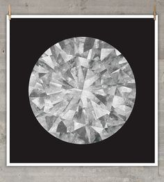 Moon Diamond Print | Art Prints | The Best Part