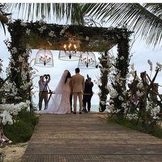 Casamento Beto e Marina em Trancoso. Tenho muito amor por esse lugar! 😍