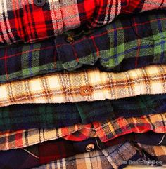 Mystery Flannel Shirt  Top Rated on Etsy por TheBeardedBee en Etsy