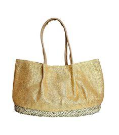 Bora Bora Gold Mesh Bag By Muche et Muchette   Aspiga