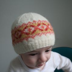 Ravelry: Fair Isle Baby Hat: Squam Edition pattern by Mary Jane Mucklestone